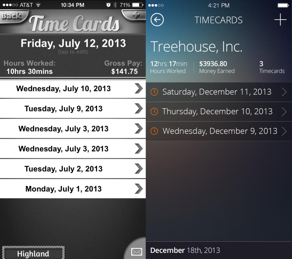 Timecards